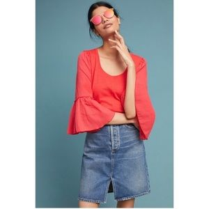 NWT Anthropologie Foster top